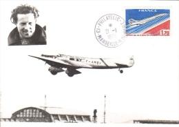 L'Avion De Jean Mermoz - 'Croix Du Sud' - Décolle D'Istres - Concorde - Premier Jour France - Avions
