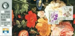 095 Carte Officielle Exposition Internationale Exhibition Genova 1992 France FDC Fleurs Flowers Blumen Orchidée - Esposizioni Filateliche