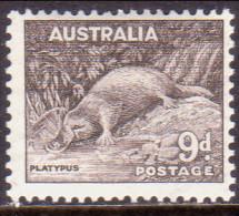 AUSTRALIA 1938 SG #173 9d MLH OG Perf 14x13½ Platypus - 1937-52 George VI