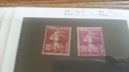 LOT 254946 TIMBRE DE ANDORRE NEUF* N�6/7 VALEUR 15,5 EUROS