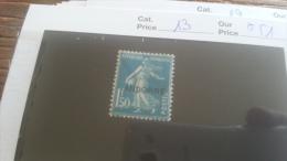 LOT 254951 TIMBRE DE ANDORRE NEUF* N�13 VALEUR 51 EUROS