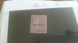 LOT 254953 TIMBRE DE ANDORRE NEUF* N�14 VALEUR 23 EUROS