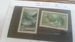 LOT 254981 TIMBRE DE ANDORRE NEUF* N�71/72 VALEUR 32 EUROS