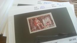 LOT 254996 TIMBRE DE ANDORRE NEUF** N�183 VALEUR 11,5 EUROS  LUXE