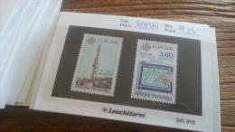 LOT 255021 TIMBRE DE ANDORRE NEUF**  N�369/370 VALEUR 13 EUROS LUXE