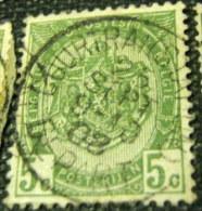 Belgium 1893 Coat Of Arms 5c - Used - 1893-1907 Coat Of Arms
