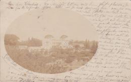 Cpa Carte Photo Postée à Alger - Villa Scala El Biar 1903 - Alger