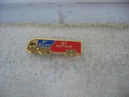"""Pin´s Camion """"Les Routiers"""" De St ELOY - Transportation"""
