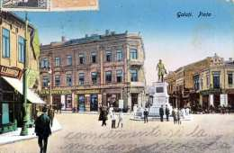 GALATI Piata, Gel.1924 - Rumänien
