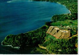 TAHITI    SITUE' ENTRE LA BAIE L'HOTEL TAHARA'A  INTER-CONTINENTAL       (VIAGGIATA) - Polinesia Francese