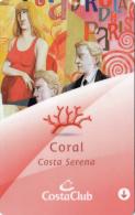 Costa Serena - Coral - Member Card