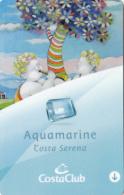 Costa Serena - Aquamarine - Member Card