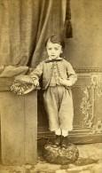 Jeune Homme Mode Paris Second Empire Ancienne Laporte CDV Photo 1860 - Photographs