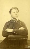 Jeune Homme Mode Paris Second Empire Ancienne Lege & Bergeron CDV Photo 1860 - Photographs