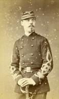 Homme Militaire Mode Paris Second Empire Ancienne Touranchet CDV Photo 1860 - Photographs