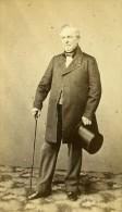 Homme Debout Mode Paris Second Empire Ancienne Spingler CDV Photo 1860 - Photographs
