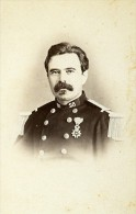 Capitaine Portrait 16000 Angouleme France Second Empire Ancienne CDV Maury Photo 1870 - Photographs