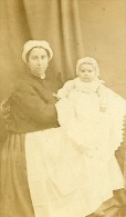 Famille Mode 59 Cambrai France Second Empire Ancienne CDV Caze Photo 1870 - Photographs