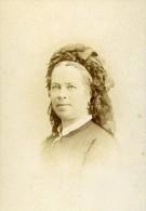 Femme Portrait 86000 Poitiers Ancienne CDV Photo Leopold Dubois 1890 - Photographs