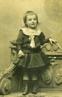 Jeune Fille Portrait Mode 64100 Bayonne Ancienne Photo CDV Michelsen 1890 - Old (before 1900)