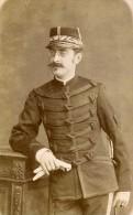 Militaire Armée Francaise 27000 Evreux Ancienne Photo CDV Berthaud 1890 - Photographs