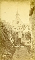Chapelle ND De Behuard 49170 Angers France Ancienne CDV Photo 1870 - Photographs