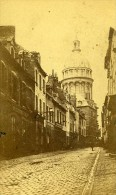 Rue Principlae Cathedrale 62200 Boulogne Sur Mer France Ancienne CDV De Mauny Photo 1870 - Photographs