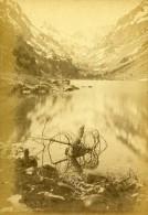 Lac De Gaube & Glacier De Vignemale 65110 Cauterets France Ancienne CDV Photo 1870 - Photographs