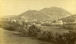 Vue Generale 65100 Lourdes France Ancienne CDV Photo 1870 - Photographs