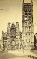 Eglise Saint Jacques 76200 Dieppe France Ancienne CDV Photo 1870 - Photographs
