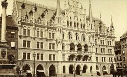 Allemagne Munich Neue Rathhaus Ancienne Photo CDV Kostler 1870 - Foto