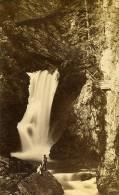 Gorges De La Diosa 74310 Servoz Haute Savoie France Ancienne CDV Perroud Photo 1870 - Photographs