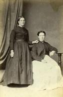 Femmes Mode Ashford Royaume Uni Ancienne CDV Kingsmill Photo 1870 - Anciennes (Av. 1900)