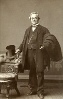 Homme Mode Canterbury Royaume Uni Ancienne CDV Bateman Photo 1870 - Photographs