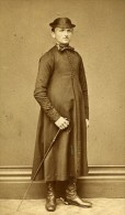 Altenburg Saxe Allemagne Costume Traditionnel Old CDV Photo 1870 - Photographs