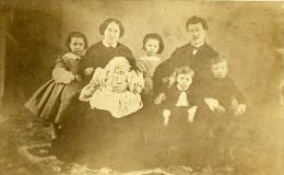 Famille Portrait De Groupe France Ancienne Photo CDV 1860 - Photographs