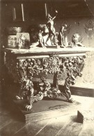 Petit Musee Personnel Console Sculpture Ancienne Photo Amateur 1900 - Altri