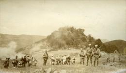 Maroc Guerre Du Rif Bou Ganong Militaire Ancienne Photo Amateur 1925 - Africa