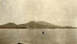 Yemen Aden Panorama Vue De La Mer Ancienne Photo 1930 - Photographs