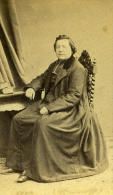 France Lille Pretre Second Empire Ancienne CDV Photo Carette 1870 - Photographs