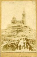 France Marseille Ticket Ascenseurs ND De La Garde Ancienne Photo 1893 - Photographs
