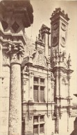 France Old CDV Photo 1880 Chambord Castle Window - Photographs