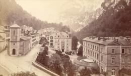 France Old CDV Photo 1880 Eaux Chaudes General View - Photographs