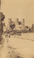Bourbon L'Archambault Les Trois Tours Nord Forteresse CDV Photo 1865 - Old (before 1900)