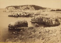 Nice Vue Prise Du Boulevard De L'Impératrice Alpes Maritimes CDV Photo 1865 - Old (before 1900)