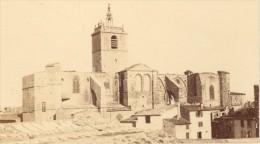 Narbonne Basilique Saint Paul CDV Photo Verdier 1870 - Old (before 1900)
