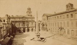 Place De La République Arles CDV Photo 1875 - Old (before 1900)