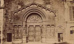 Facade Eglise Sainte Trophime Arles Ancienne CDV Photo 1875 - Old (before 1900)