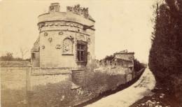 Caen Tour Des Gens D Armes Calvados France Ancienne CDV Photo 1875 - Old (before 1900)