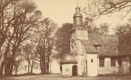 Honfleur Chapelle Notre Dame De La Grace Calvados France Ancienne CDV Photo 1875 - Old (before 1900)